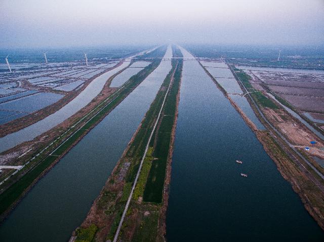 淮河入海水道河道工程