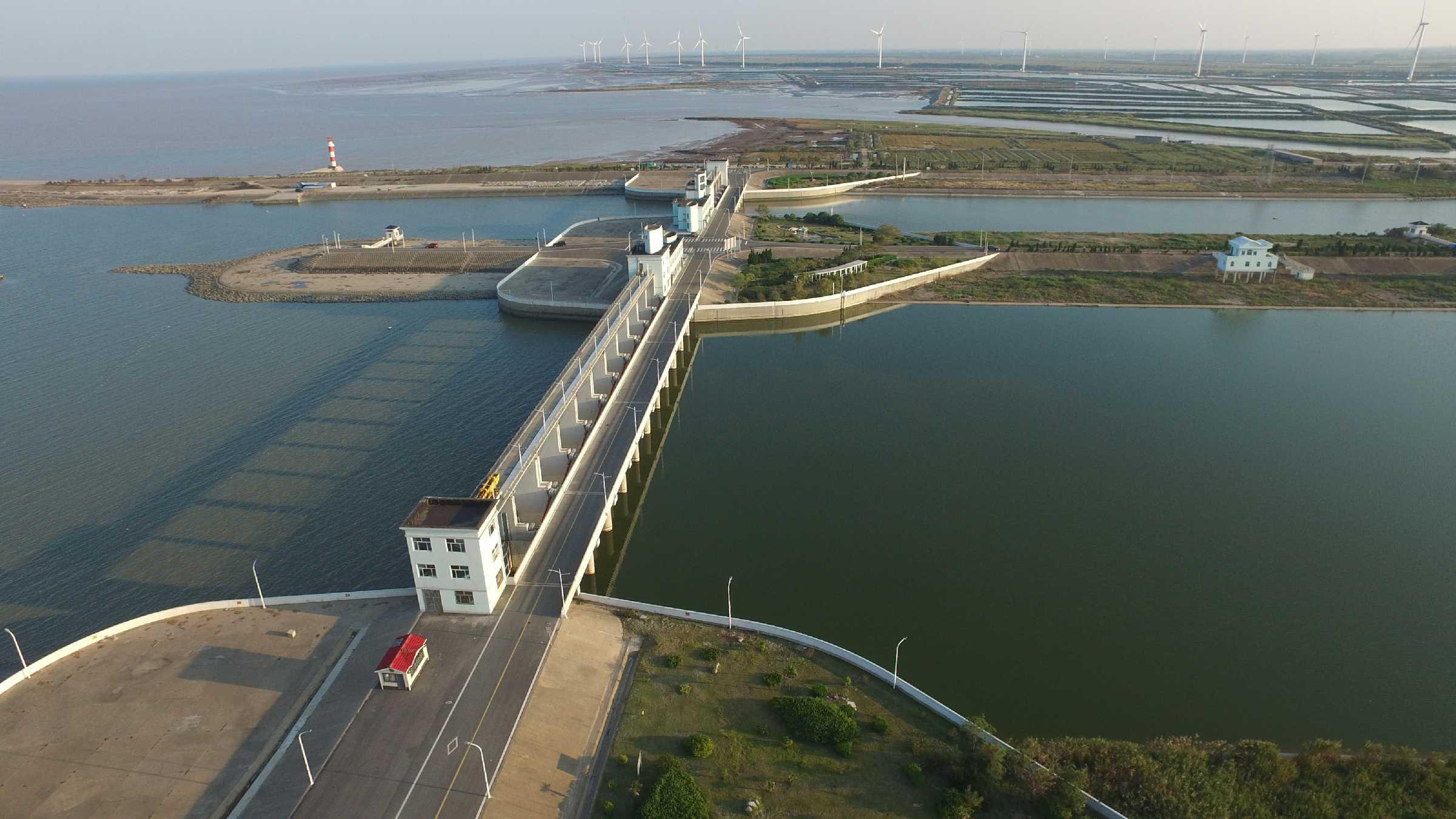 淮河入海水道海口枢纽海口闸工程